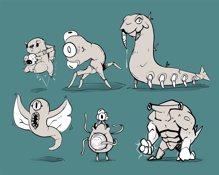 new enemy concepts